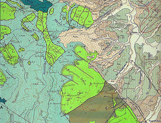 GEOLOGICAL MAP ISARIa